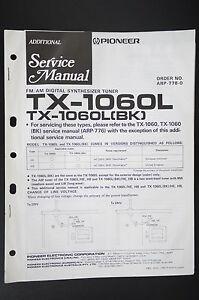 pioneer tx-35842.8oz (bk) original additional service manual ... tx wiring diagram  ebay