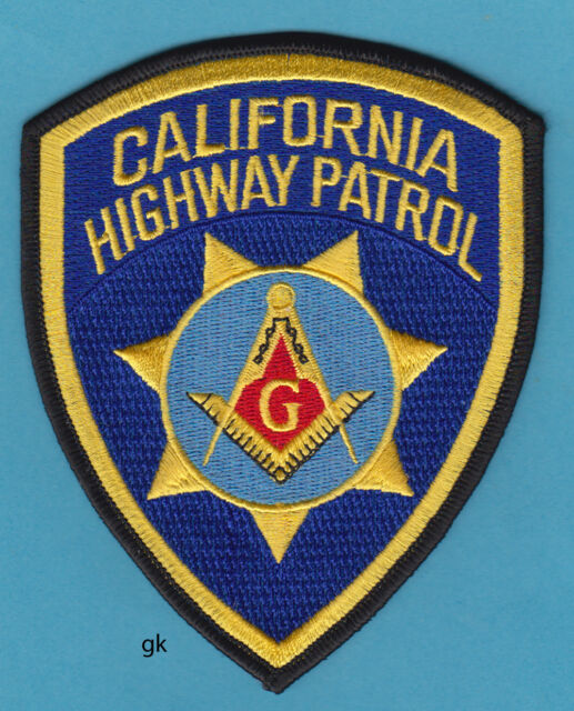 California Highway Patrol Police Patch For Sale Online