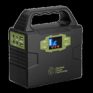 PPT Powerpack 100+ 150W/H Batterie avec 100 W 240 V INVERTER + 2 x USB + prise 12 V  </span>