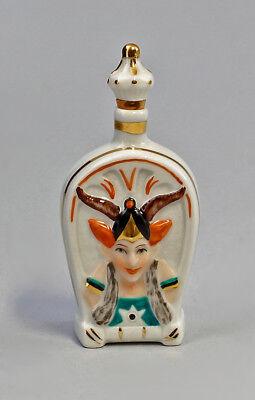 Antiques Figurines Efficient Porcelain Figurine Ens Snuffbox Parfüm-flakon Pan-kopf Ens H8cm 9941127# Attractive Appearance