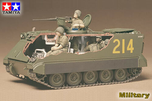 U.S. Armored Personnel Carrier M113 1:35 Plastic Model Kit 35040 TAMIYA