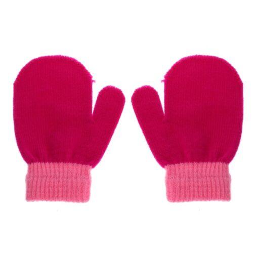 Cute Toddler Glovers Baby Kids Mittens Cotton Soft Knitting Warm Gloves Fashion
