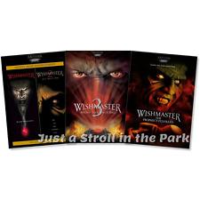 Wishmaster: Complete Fantasy Horror Movie Series 1 2 3 4 Box / DVD Set(s) NEW!