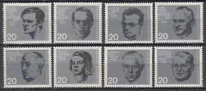 BRD 1964 Mi. Nr. 431-438 aus Block 3 Postfrisch LUXUS!!!