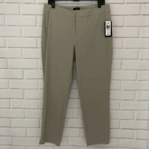 NYDJ-Not-Your-Daughters-Jeans-Khaki-Beige-Stone-Ankle-Pants-12-Petite-110-NWT