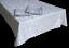 Tovaglia-di-Fiandra-rettangolare-Tovaglioli-da-12-e-18-posti-in-100-Cotone miniatuur 2