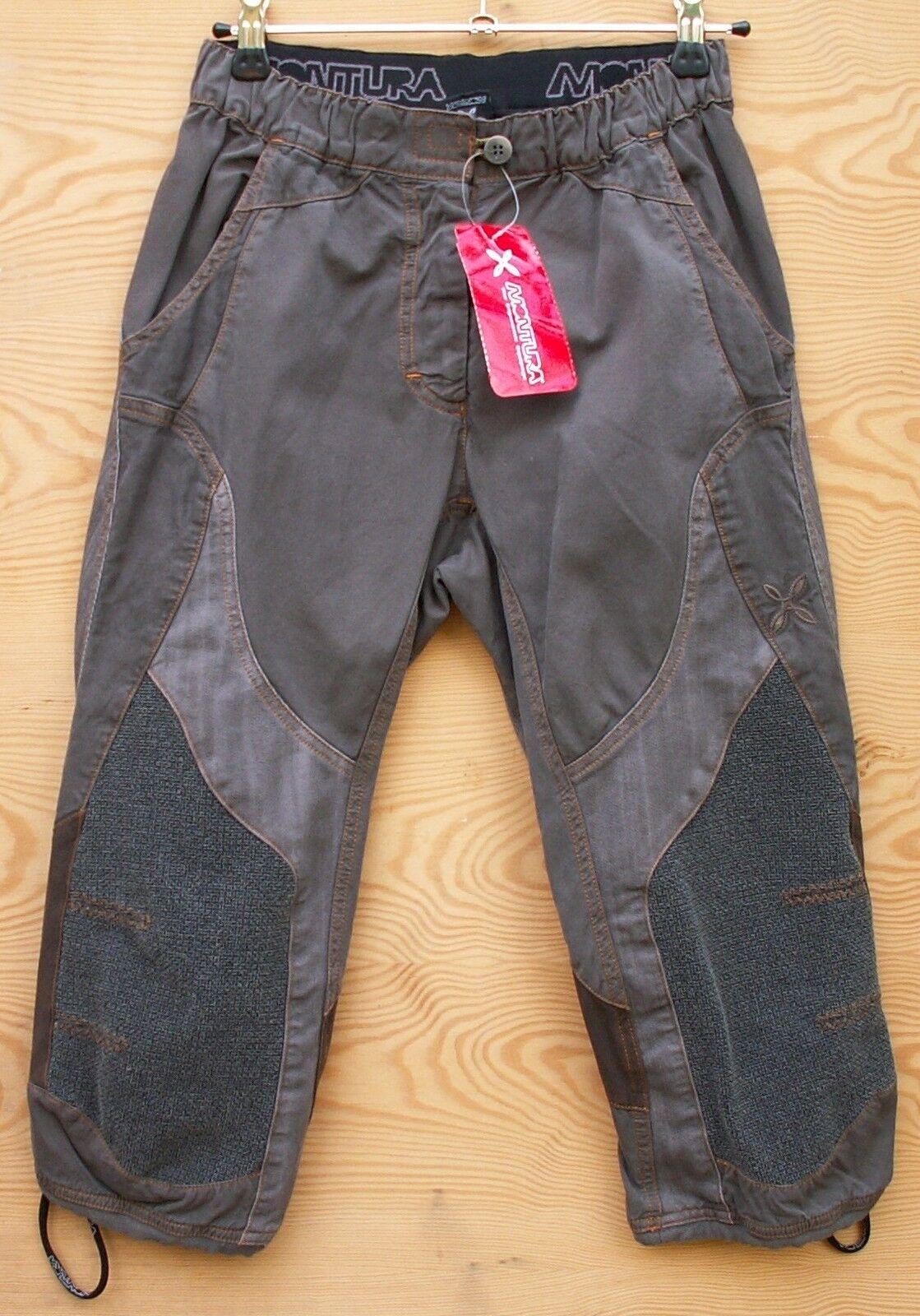Montura Kletterhose für für für Damen Fusion K. 3 4-Pant damen, braun 858ee6