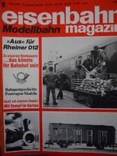 Eisenbahn Modellbahn magazin n°8 1975 - Aus fur Rheiner 012- Tr.22