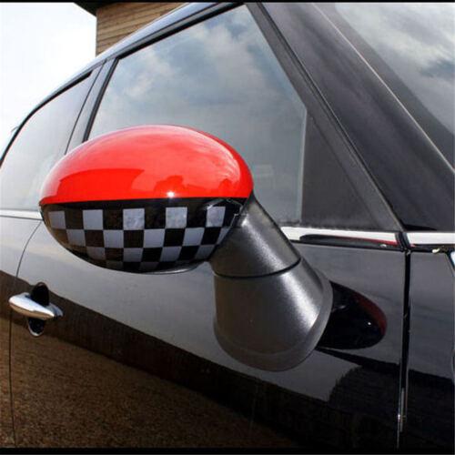 Side Wing Mirror Cover Cap for Mini Cooper R Series Non-Power Folding S06