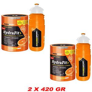 Named-Sport-Hydrafit-Sali-Minerali-con-Borraccia-elite-in-Omaggio-2-X-420-gr
