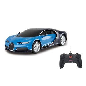 Jamara Bugatti Chiron 1:24 Bleu 40mhz