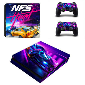 Need For Speed Heat Ps4 Slim Skin Sticker Vinyl For Console 2