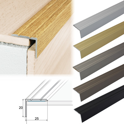 Aluminium Stair Nosings Step Edge, Stair Nosings For Laminate Flooring