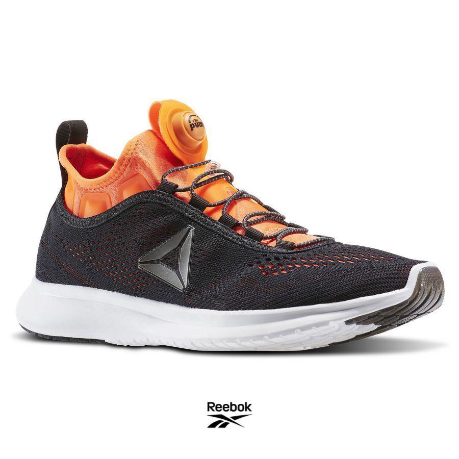 Reebok Pump Plus Casual Gray Running Shoes � BD5759 Gray Casual Orange SZ 4-12.5 23c1f1