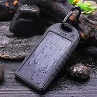 Solar Charger Portable Usb Battery Power Bank For Cell Phone Iphone Gopro Gps