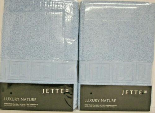 Jette  Luxury Nature  2  Duschtuch 70 x 140 cm himmelblau  Frottee   NEU /& OVP
