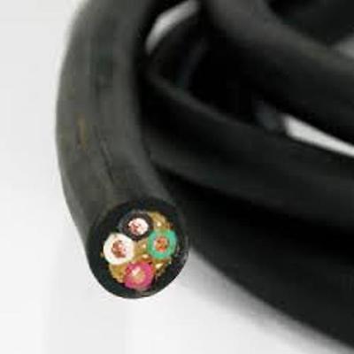 18//3 SJOOW Indoor//Outdoor Portable Cord 300V 250/' Black NEW!!