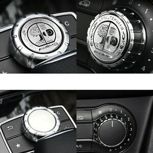 1 Ps Multimedia Control Badge Alloy Oem Amg Sticker Badge Logo For