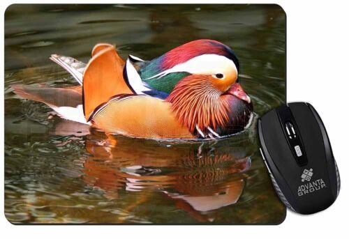 Lucky Mandarin Duck Computer Mouse Mat Christmas Gift Idea AB-DU72M