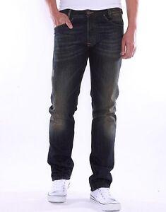 d6624e70 DIESEL IAKOP 0RBS4 Men's Regular Slim Tapered-Leg Fit Jeans $275 NEW ...