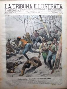 La-Tribuna-Illustrata-30-Marzo-1919-Montenegro-Serbia-Dalmazia-Flotta-Tedeschi