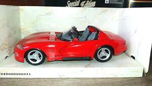 AUTO-MODELLO-MAISTO-DODGE-VIPER-RT-10-1995-SCALA-1-24