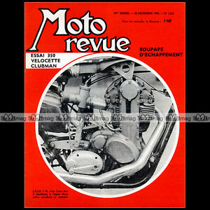 MOTO-REVUE-N-1621-AJS-7R-VELOCETTE-CLUBMAN-BSA-500-AA7-650-A65-AMV-FIM-1962