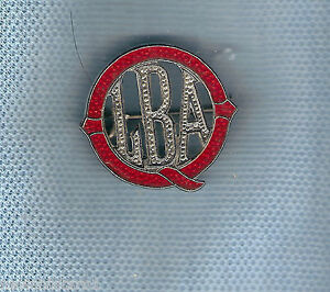 #D116.  QUEENSLAND LADIES'   BOWLING  ASSOCIATION  LAPEL BADGE