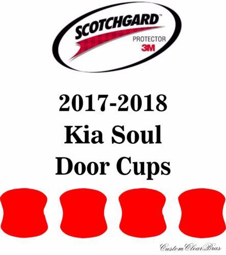 3M Scotchgard Paint Protection Film Clear Bra Pre-Cut Fits 2017 2018 Kia Soul
