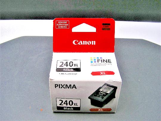Canon 240XL Black Fine Pixma Ink Cartridge NIB