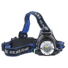 1000LM CREE XM-L T6 LED Headlamp Head Light Flashlight 18650 Battery Charger
