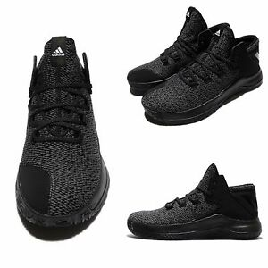 Adidas Rise Up Grey Black White Men Basketball Shoes Sneakers BB8244