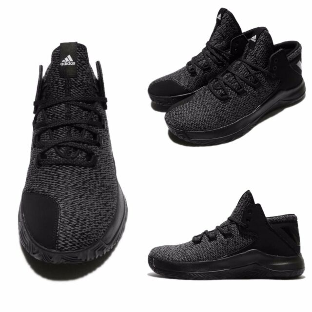 Buy adidas Rise up Grey Black White Men Basketball Shoes SNEAKERS ... e02993677