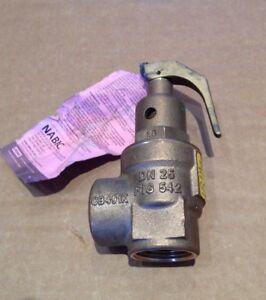 NABIC-DN25-FIG-542-1-inch-BSP-4-Bar-Saftey-Valve-N-542-25-4-YEAR-16