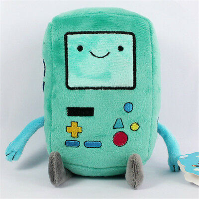 "New 7"" BEEMO BMO Plush Toy Adventure Time with Finn and Jake Doll"