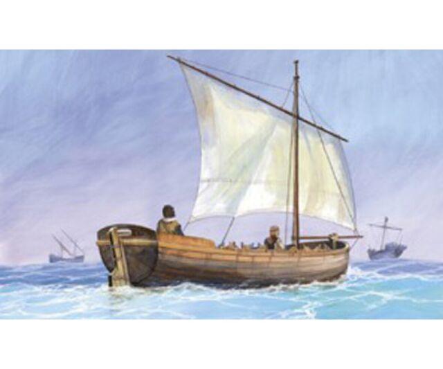 Zvezda 1:72 Medieval Life Boat