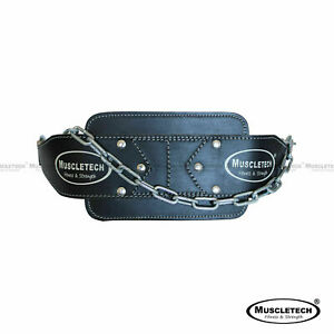 Leather-Dip-Belt-Weight-Lifting-Bodybuilding-Dipping-Chin-Pull-Up-Tricep-Belt