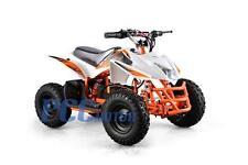 Titan Kids Electric Battery Mini Outdoor Quad Dirt Bike Ride On ATV 24V WHITE