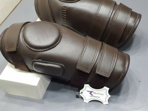 Polo Knee Guards Horse Riding Knee Pads Leather Protective