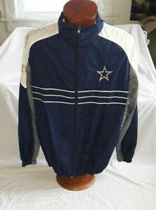 promo code 789d5 e0a19 Details about NFL Dallas Cowboys Windbreaker Jacket Size, NO SIZE ( I THINK  XL ).