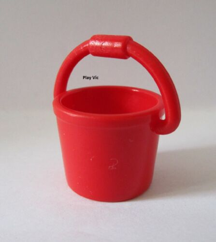 Playmobil 4288 Seau Rouge Roter Eimer Red bucket Buanderie
