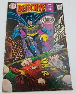 Detective-Comics-374-Silver-Age-DC-Comics-Batman-Gil-Kane-VF