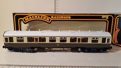 (lot 265 06) Mainline 937124 Collett 60' All 3rd Coach G.w.r. Livery