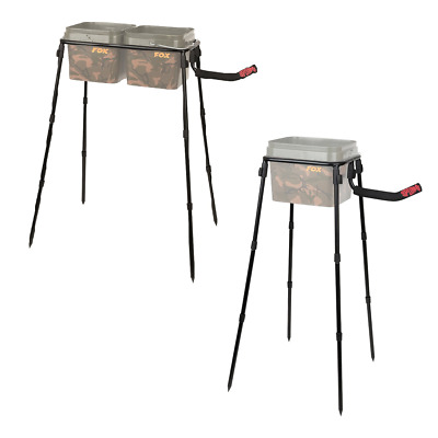 Fox Spomb Single /& Double Bucket Stand Kits **NEW FOR 2019**