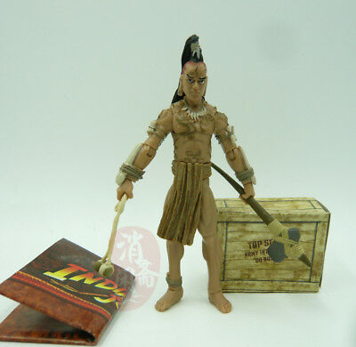 "Indiana Jones Ugha Warrior Kingdom of the Crystal Skull 3.75/"" Action Figure Toy"
