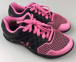 840d783c0c7313 Reebok Crossfit CF74 Nano 4.0 Women s Size US 5 Shoes Pink Black ...