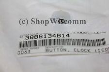 Motorola OEM CDM Button Clock Icon 3886134B14 CDM750 CDM1250 CDM1550 & More