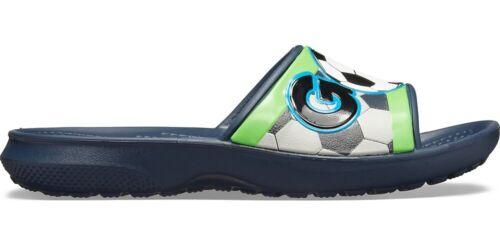 Crocs FunLab Sports Fan Kids Slide Navy