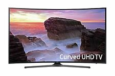 "Samsung 55"" Curved Smart 4K UHD LED TV with 3 HDMI, 2 USB Ports & Built-in WiFi"