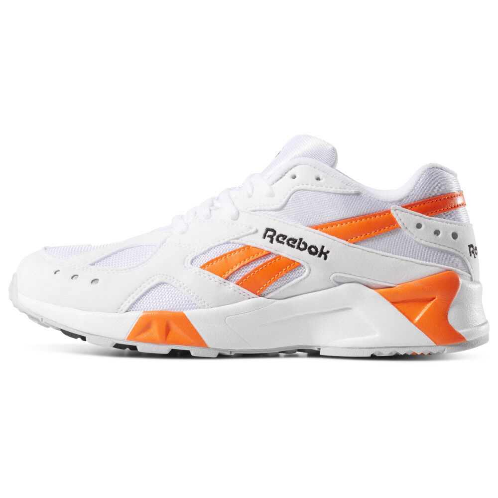 New Mens Reebok AZTREK Weiß   Orange CN7472 US 7 - 10 TAKSE